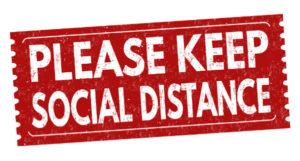 Please keep Social Distance