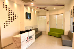 Laxmi Eye Institute - Kharghar - Reception and Waiting Area